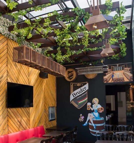 Diseño Interior Restaurante Bruder