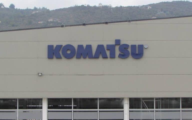 Arquitectura Concesionario Komatsu