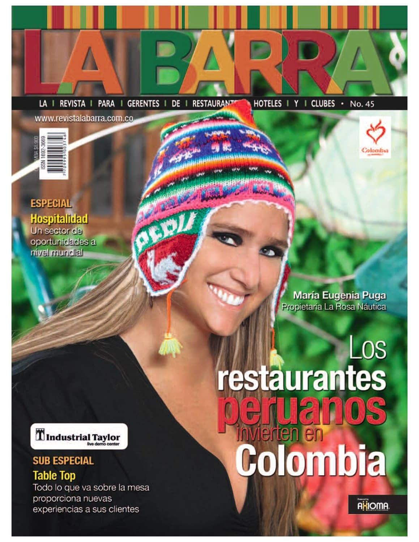 Revista La Barra Ed45 Portada