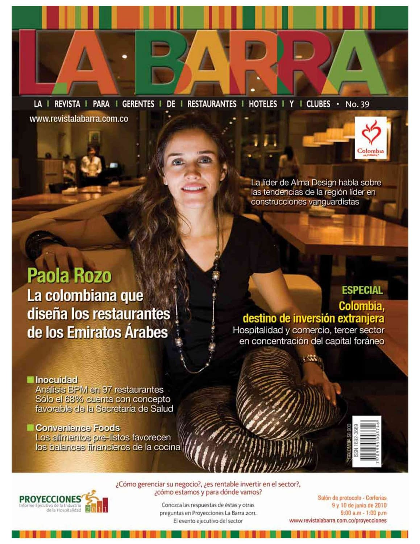 Revista La Barra Ed39 Portada