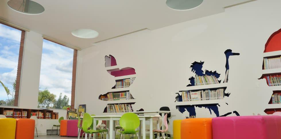Diseño Arquitectónico para la biblioteca del Colegio Santa María