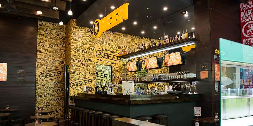 Diseño Arquitectonico Beer Pub Mosquera