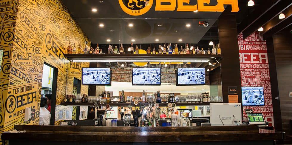 Diseño de Restaurante Beer Pub Mosquera
