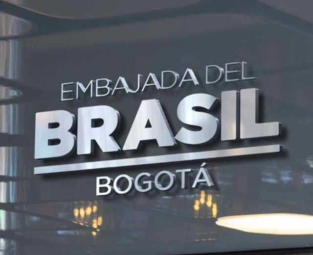 Logo Embajada de Brasil