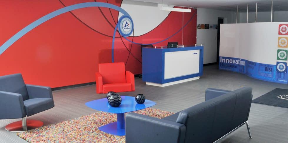 Diseño Interior y Adecuación Tetra Pak